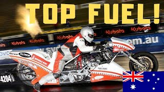 Gambar cover WHY THIS TOP FUEL NITRO MOTORCYCLE IS ONE OF THE MOST SPECIAL DRAG BIKES - ELMER TRETT's LEGACY