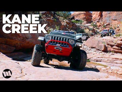 MOAB Kane Creek Easter Jeep Safari JL Wrangler Fun Run with EVO