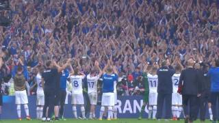 The BEST FIFA Football Awards™ - Fan Award - Iceland at EURO 2016