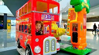 Kids Ride On Bus , Wheels on the Bus Song , Video For Kids