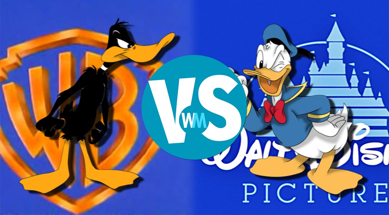 Donald Duck Vs Daffy Duck