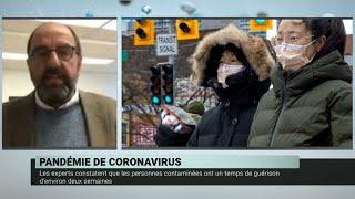 Coronavirus : la menace d'une pandémie – Dr. Alain Poirier