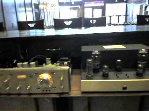 Scott 355 and Golden Audio Tube 300B amp