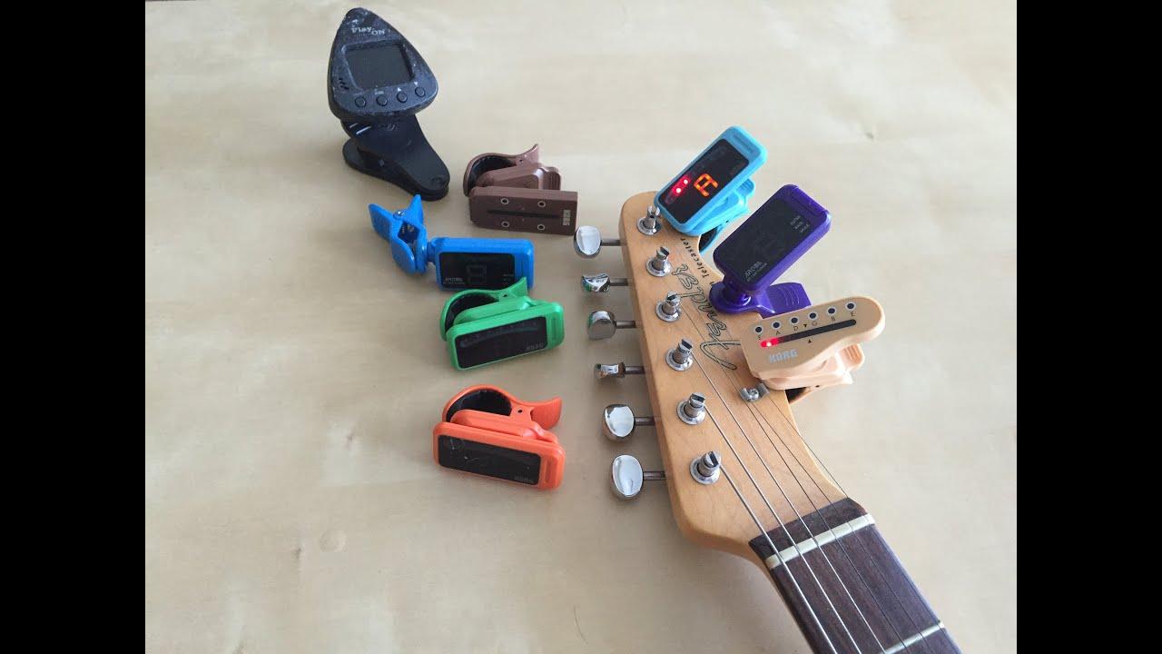 チューナー ギター