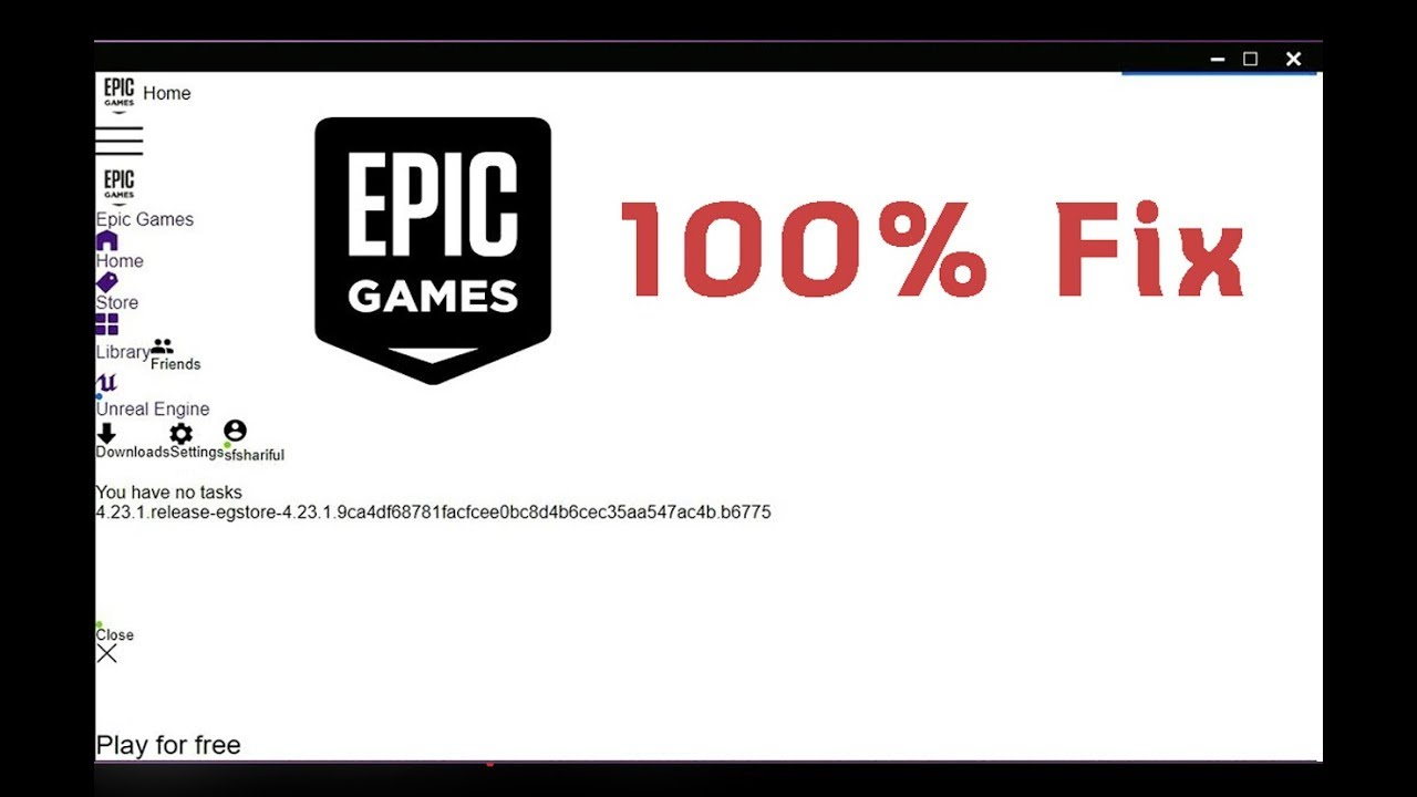 How to fix Fortnite Epic games Launcher white screen Bug ...