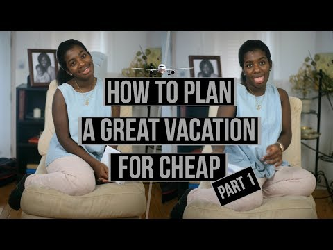 How to plan a great vacation for cheap Part 1 | Single Mom Space