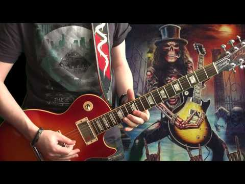 Vasco Rossi feat Slash - Gioca Con Me (full guitar cover)