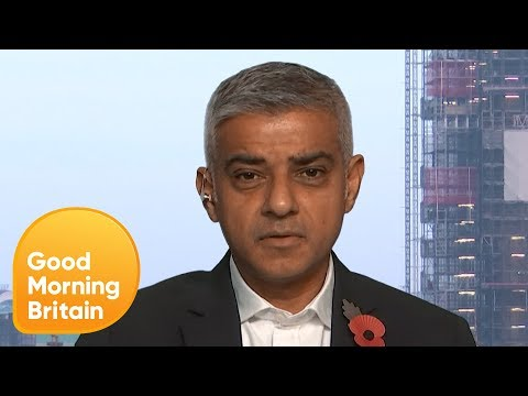 Sadiq Khan: You've Got to Treat Knife Crime Like an Infection | Good Morning Britain