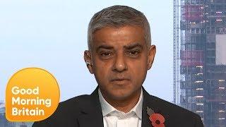 Sadiq Khan: You've Got to Treat Knife Crime Like an Infection | Good Morning Britain