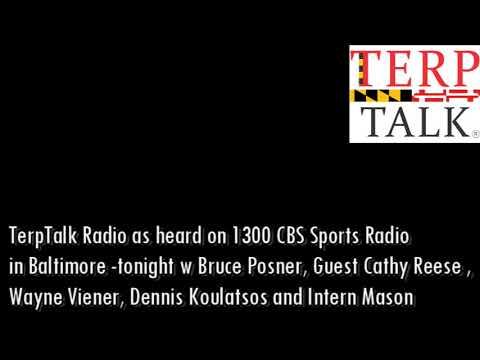 TerpTalk Radio w guest Cathy Reese Maryland Women's Lacrosse 2018 04 18