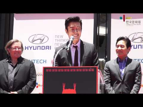 'Look east Korean Film Festival' Byung Hun Lee and Sung Ki Ahn Leave Their Prints in Hollywood