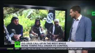 Western Terrorists in Isis Look at Spain (& Rome) to Forge Islamic State