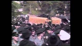 1994: Thousands Mourn The Lubavitcher Rebbe