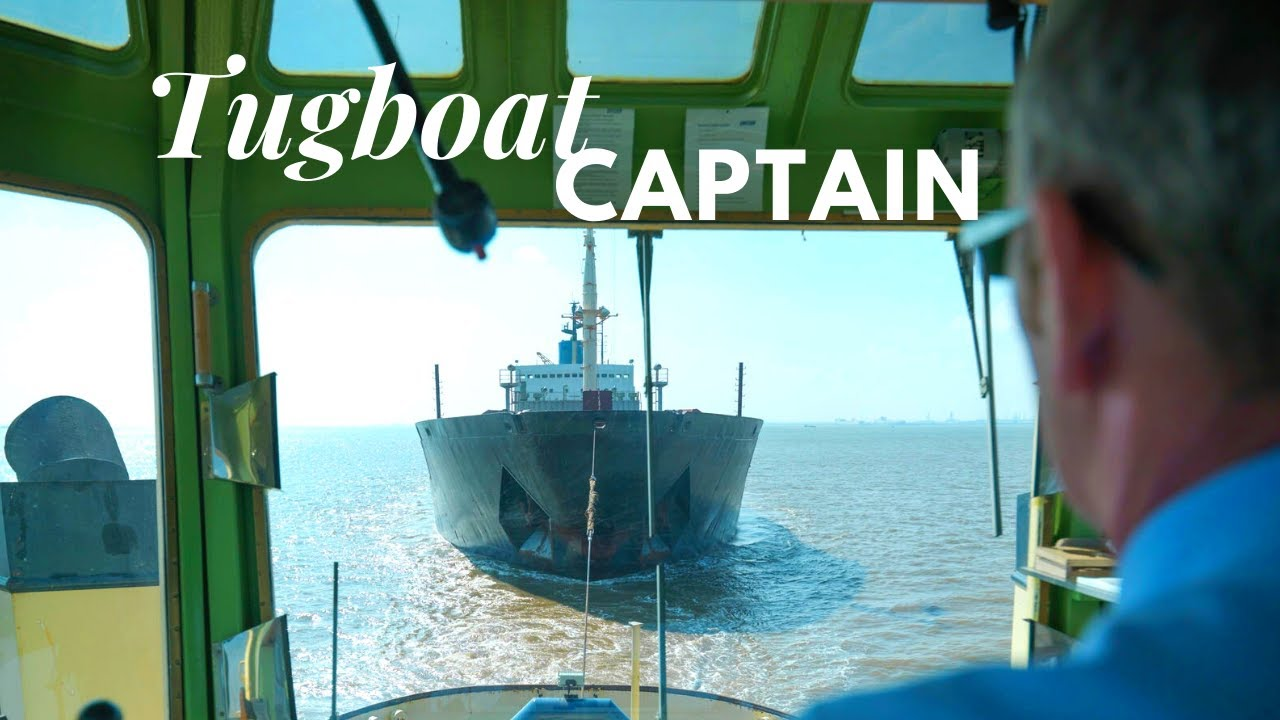 Working as Tug Captain (Documentary)