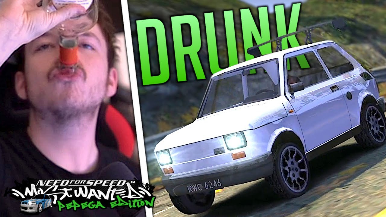 Playing the Pepega Mod DRUNK! Maluch Only! - NFS Most Wanted Pepega Edition | KuruHS