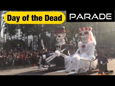 Day of the Dead parade 2017 - Mexico City