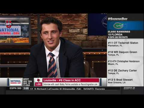 Tommy DeVito on ESPN National Signing Day
