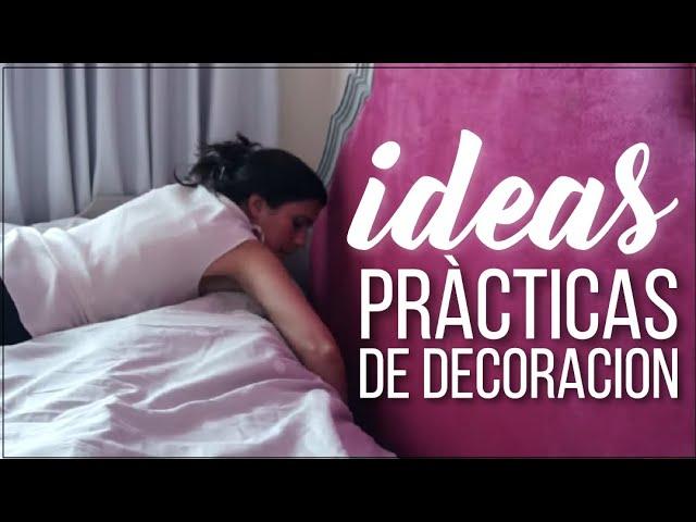 IDEAS PRACTICAS PARA DORMITORIOS PEQUEÑOS: DECORACION