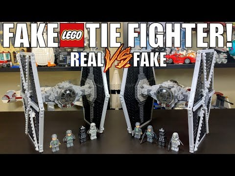FAKE LEGO Star Wars 75211 Tie Fighter! (REAL VS FAKE)