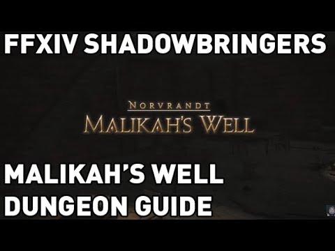 Malikah's Well - Final Fantasy XIV A Realm Reborn Wiki - FFXIV