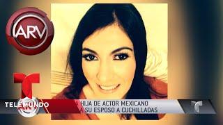 Hija de Tony Bravo cuenta por qué asesinó a su esposo | Al Rojo Vivo | Telemundo