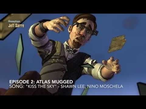 Borderlands telltale games саундтрек