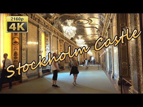 Visiting the Royal Castle in Stockholm - Sweden 4K Travel Channel