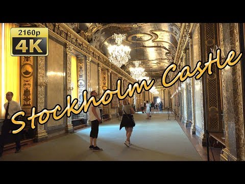 Visiting The Royal Castle In Stockholm - Sweden 4K Travel Channel