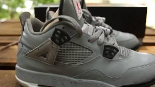 Custom Jordan 4 Cement Jordan 4s
