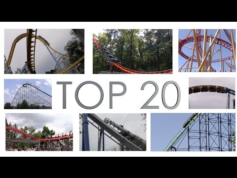 Top 20 Roller Coasters in America - Late 2016 Edition