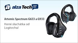 Logitech Artemis Spectrum: Drátová či bezdrátová sluchátka? - AlzaTech #254