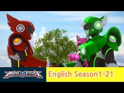 English Ver Dub Miniforce Season1 Ep21 Destined Rivals