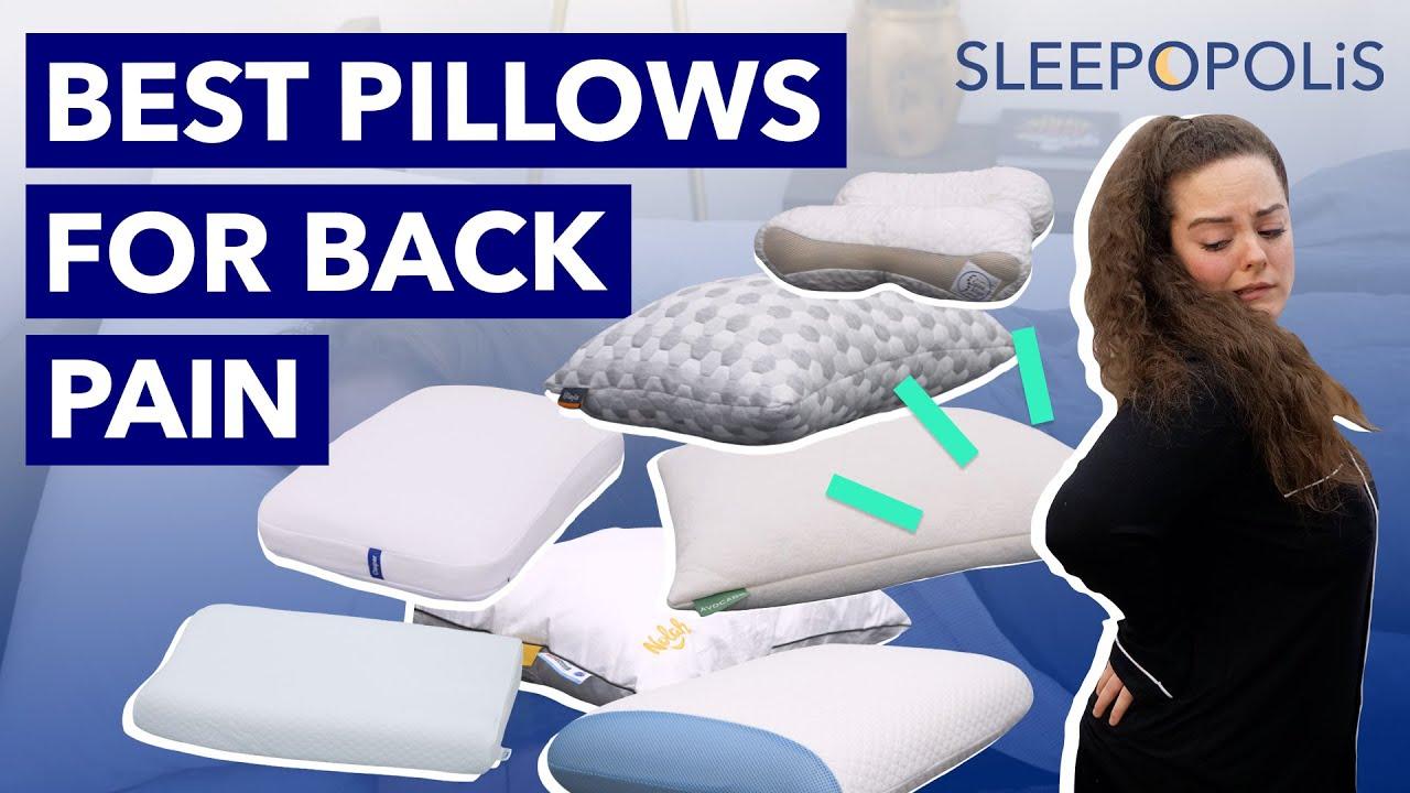 best pillow for back pain sleepopolis