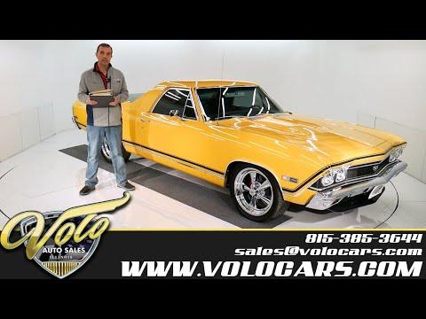 1968 Chevrolet El Camino SS For Sale At Volo Auto Museum (V18750)