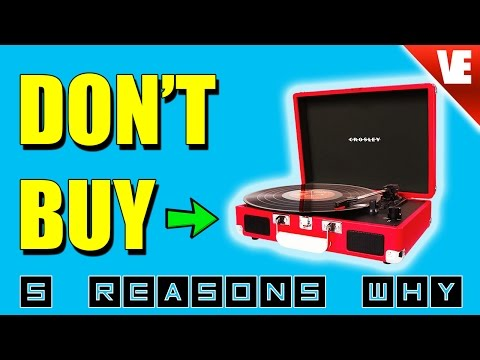 Record Player: Crosley - Top 5 Reasons NOT to Buy!