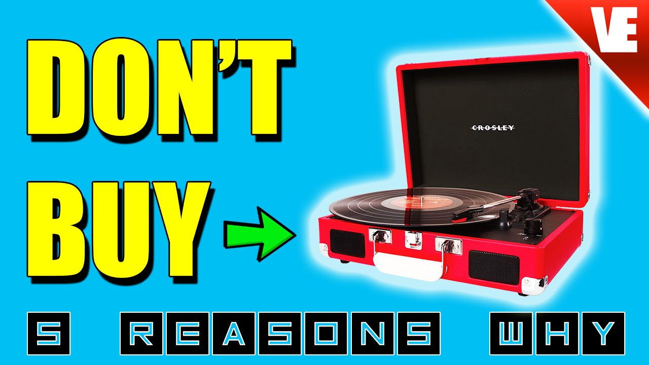 record player crosley top 5 reasons not to buy youtube. Black Bedroom Furniture Sets. Home Design Ideas