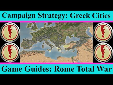 Greek Cities Campaign Strategy, History and Role-Play - Game Guides - Rome Total War
