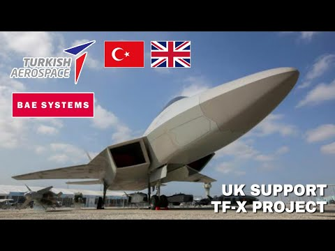 Turkey TF-X Fighter Jet Program will be Supported by the UK Government British Aerospace Company