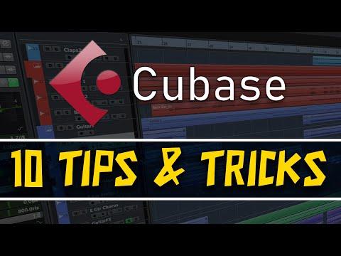 10 Tips & Tricks for Cubase