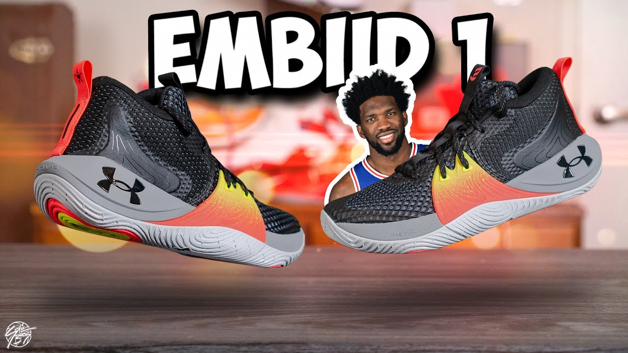 Under Armour EMBIID 1 First Impessions! Joel Embiid Signature Shoe!