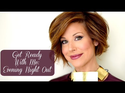 Evening Out Makeup & Hair Tutorial