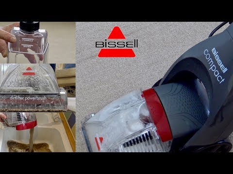Bissell InstaClean 48X4E Compact Carpet Washer Demonstration