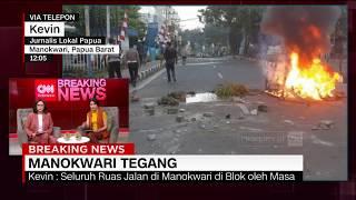 Detik-Detik Kerusuhan Meledak di Manokwari Papua Barat
