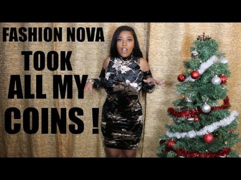 FASHION NOVA ROBBED ME FOR THE HOLIDAY!!   HEYPARIS   TRY - ON - HAUL