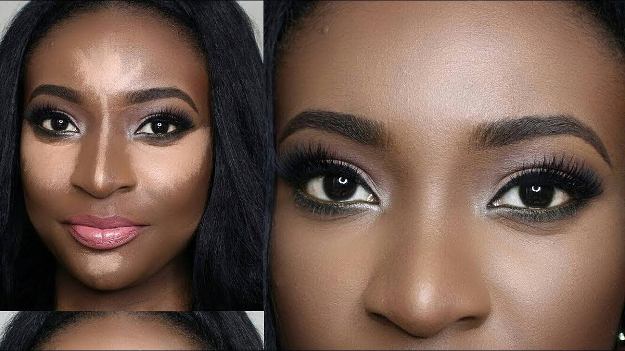 Anastasia Beverly Hills Contour Kit DEMO (Dark skin) + Review ...