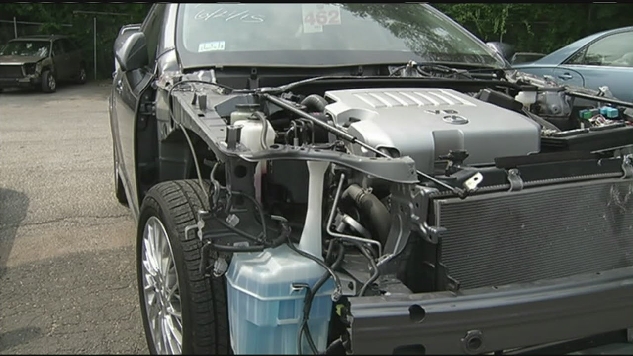 I-Team: The risk of buying a salvaged car - YouTube