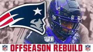 New England Patriots Rebuild & Offseason Plan | Patriots Mock Draft Free Agency & Cuts