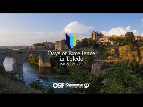 OSF Days of Excellence Toledo – May 24 - 26, 2018