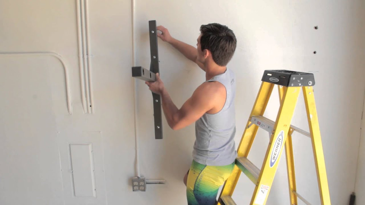 How To Install A Stud Bar Pull Up Bar Into Metal Studs