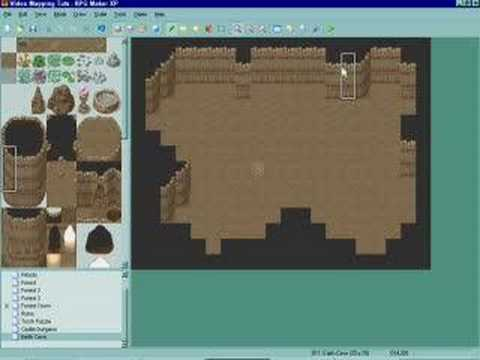 How to Use the earth cave tileset in RPG Maker XP (RMXP